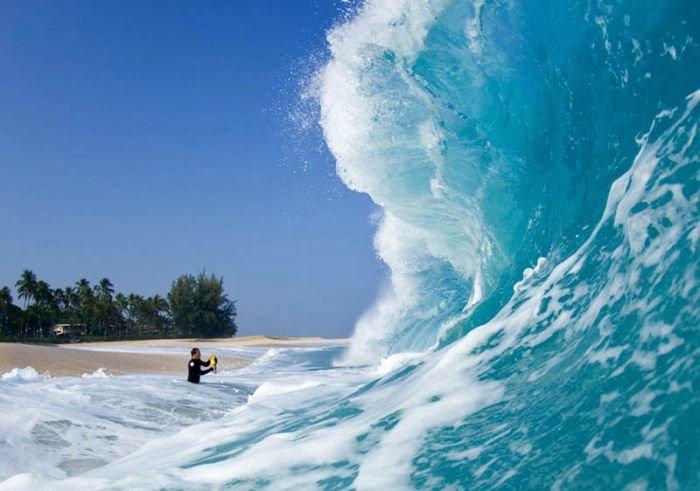 Как делают фотографии волн (16 фото)