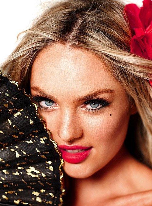 Кэндис Свонпоэл для Victoria's Secret (13 фото)