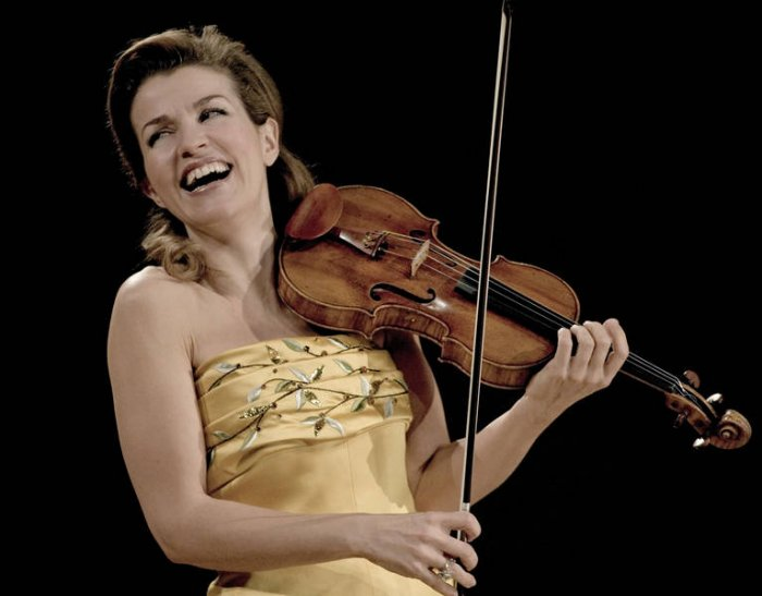 Anne-Sophie Mutter (11 фото)