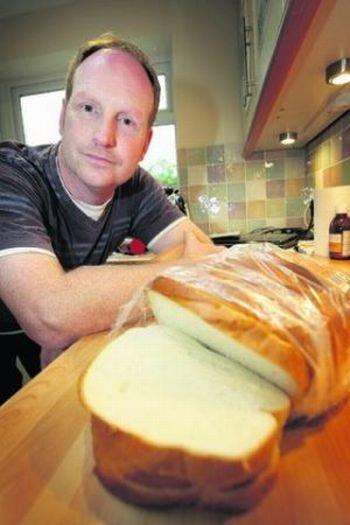 Сюрприз в буханке хлеба (3 фото)