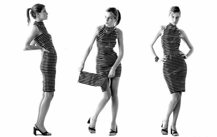 Платье из молний (4 фото)