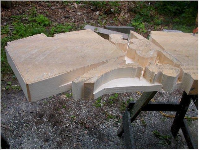 Что можно сделать из этого куска дерева (7 фото)