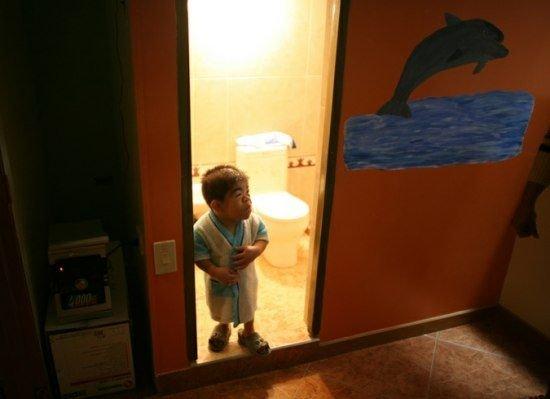 Самый маленький человек на планете (6 фото + текст)