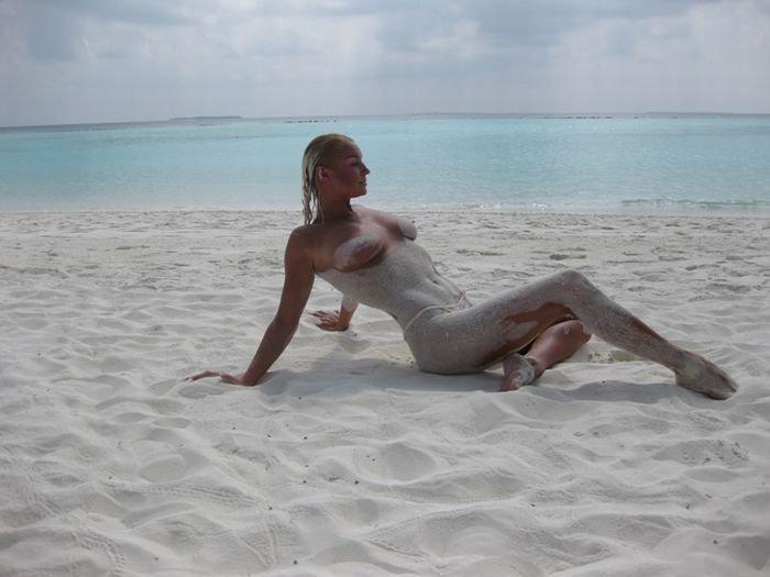 Волочкова на Мальдивах (20 фото)
