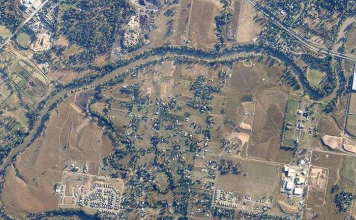 Брисбен до наводнения и после (40 фото)