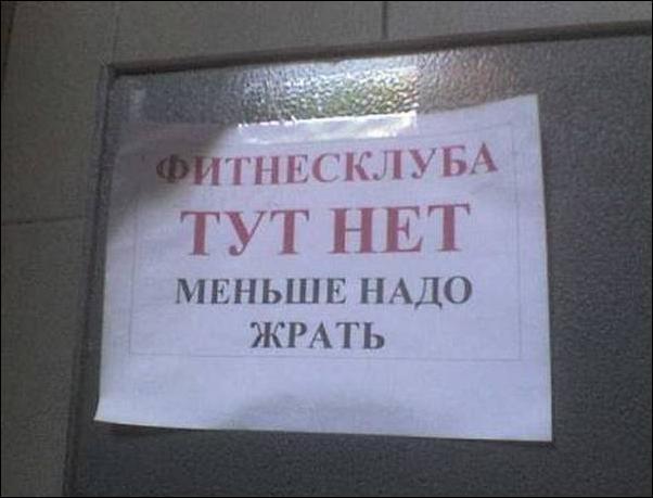 Загонные объявления и надписи (30 фото)