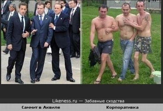 Прикольные сходства (49 фото)