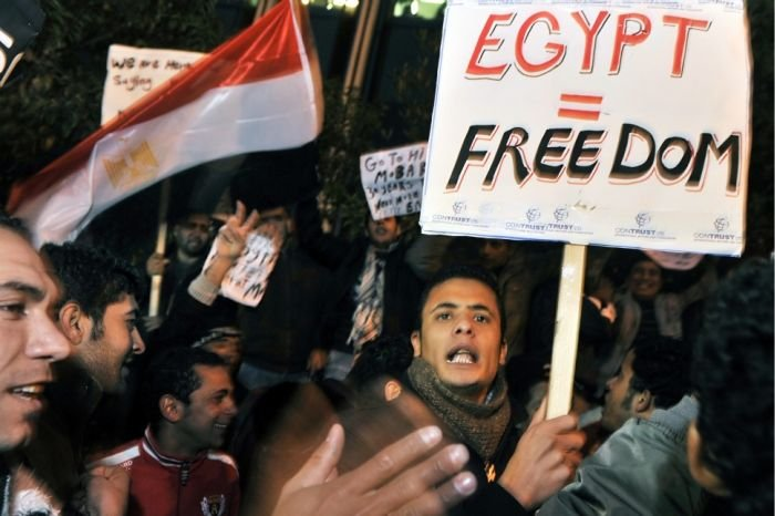 Акции протеста в Египте (92 фото)