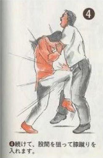 Самооборона для девушек (8 фото)