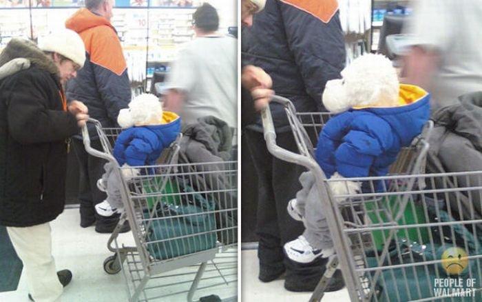 Люди в супермаркетах США (78 фото)