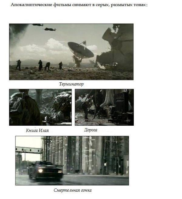 Цвет в фильмах (6 фото)