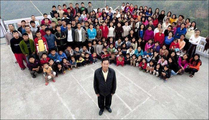 Самая большая семья в мире (5 фото)