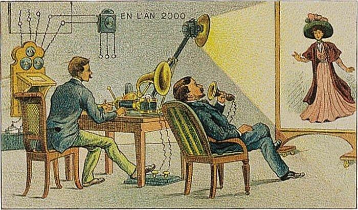 21 век в представлении людей начала 1900-х годов (24 фото)