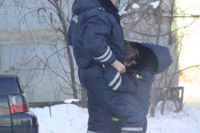 Господа полицейские в Чите (7 фото)