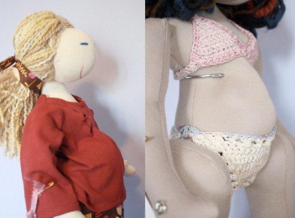 Кукла Беременная мама (4 фото)