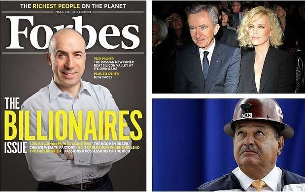Самые богатые люди в мире за 2011 год (11 фото)