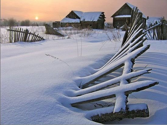 Русская глубинка (20 фото)