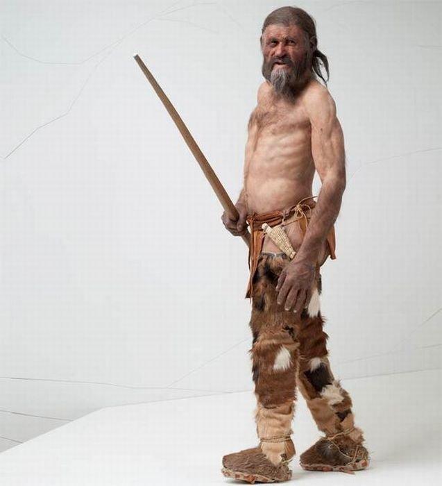Как выглядел человек 5 тысяч лет назад (4 фото)