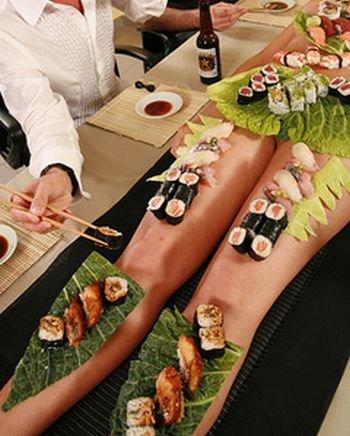Ресторан с необычными тарелками (24 фото + текст)