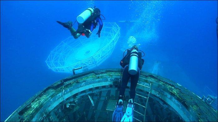 Как создают искусственные рифы (27 фото)
