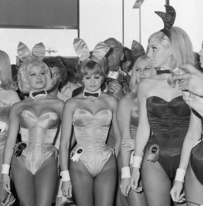 Зайцы Playboy разных лет (59 фото)