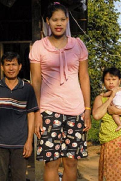 Самая высокая девушка в мире (8 фото + текст)