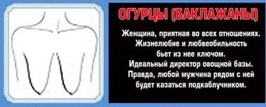 Форма груди и характер взаимосвязаны (20 фото)