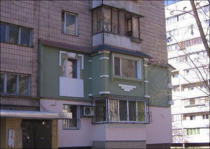 Оригинальный фасад (3 фото)