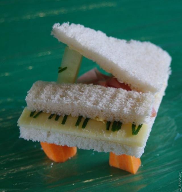 Креативная пища (45 фото)