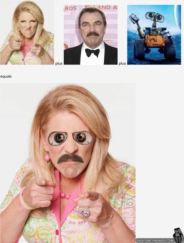Складываем знаменитостей (33 фото)