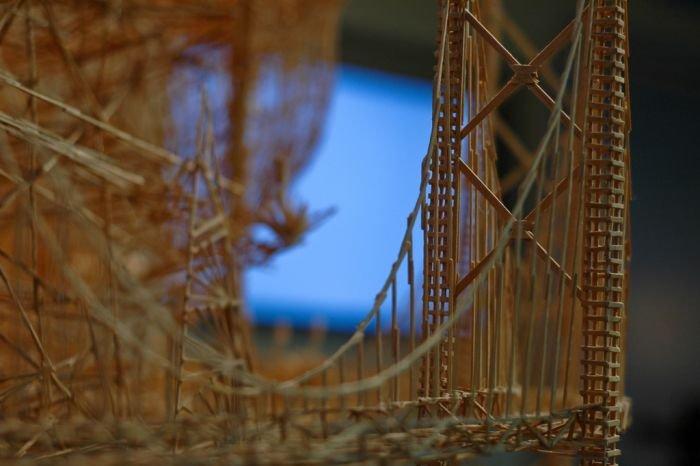 Сан-Франциско из зубочисток (25 фото)