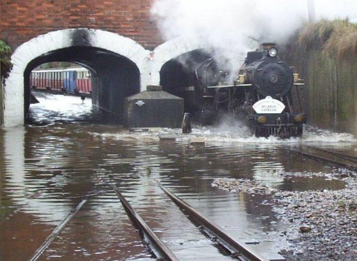 Самая маленькая железная дорога в мире (19 фото + текст)