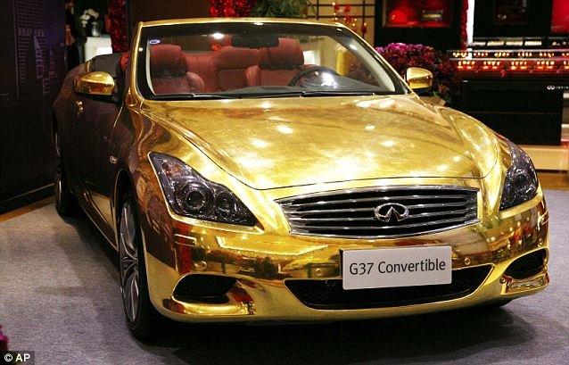 Конфискация золотого автомобиля (6 фото + текст)