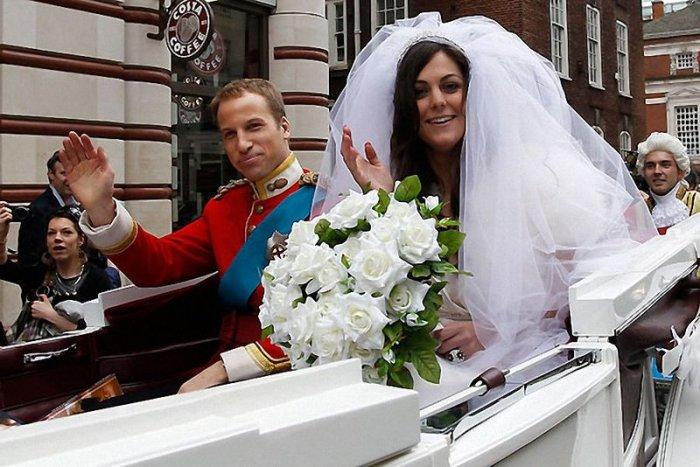 Первоапрельская королевская свадьба (14 фото + текст)