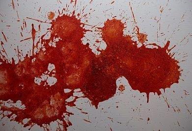 Художница рисующая рвотой (21 фото)