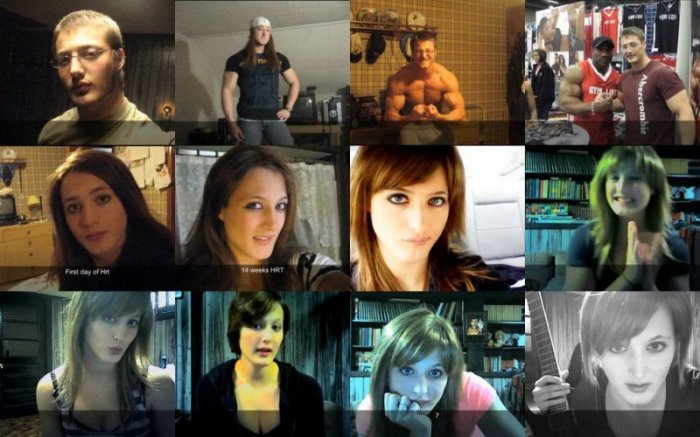 Из мужчины в женщину (10 фото)