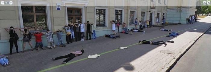 Фотографии Донецка с Яндекс.карт (7 фото)