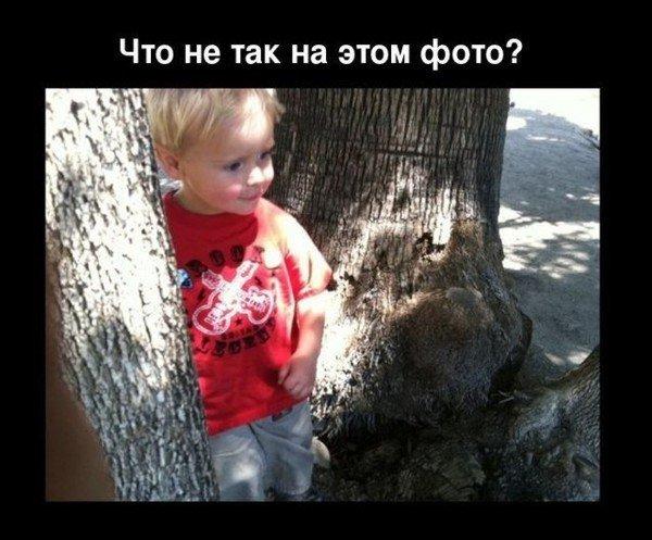 Мальчику повезло (2 фото)