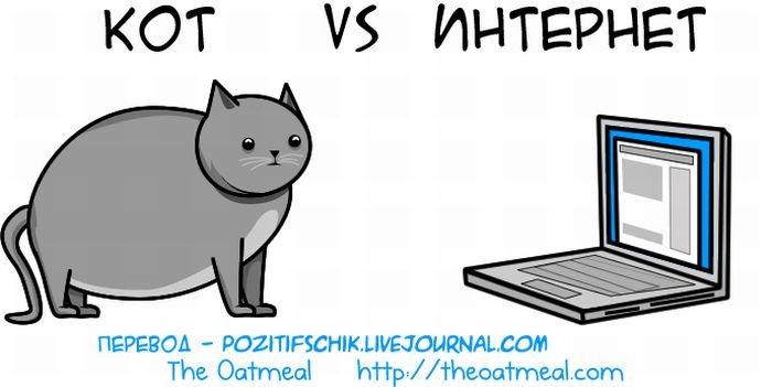 Кот против интернета (21 фото)