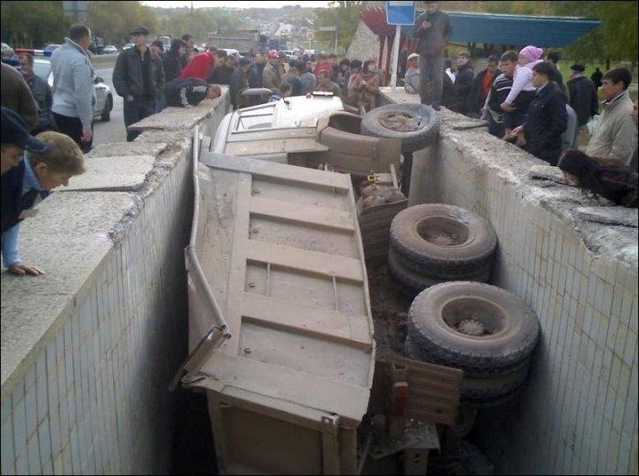Автомобильные неприятности (60 фото)