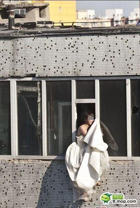 Спасение невесты в Китае (16 фото)