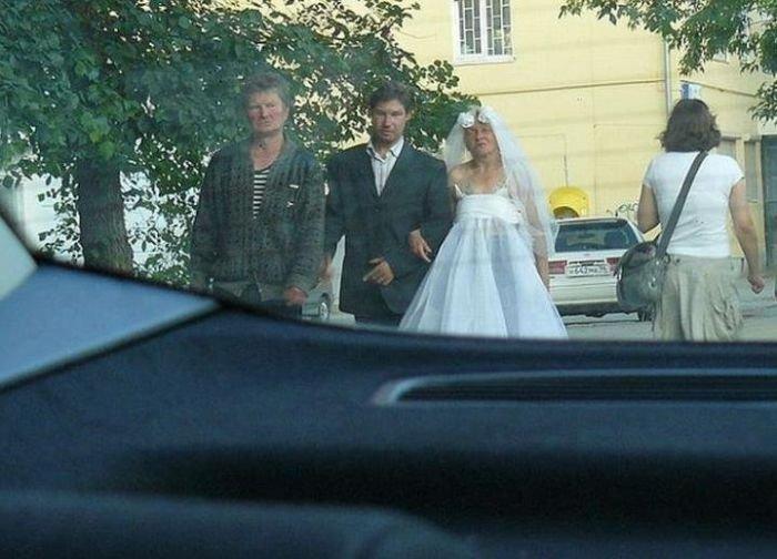 Странная свадьба (4 фото)
