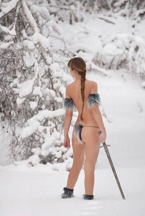 Странные девушки (70 фото)