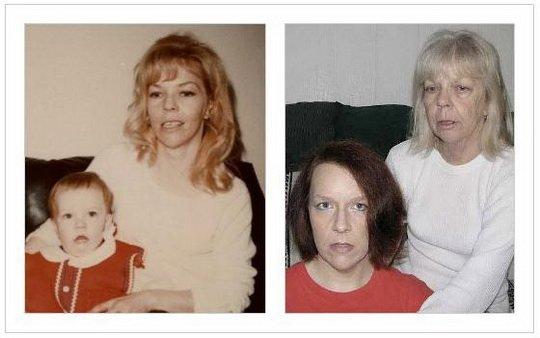 Спустя годы (42 фото)