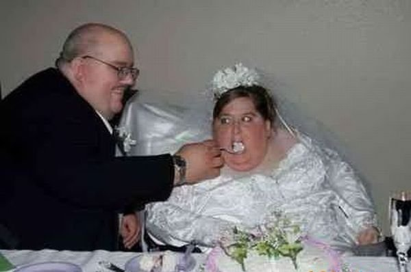 Смешные свадебные фотографии (50 фото)